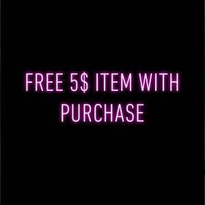 FREE 5$ ITEM W/ PURCHASE💎